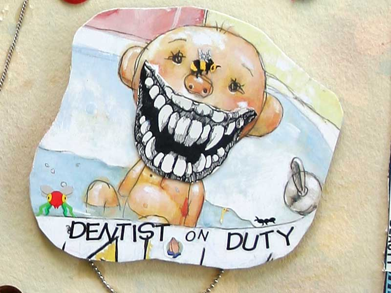 Dentist on Duty close-up
