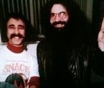 Jeffrey Axelrod and Jerry Garcia hanging out.